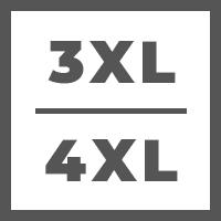 3 Extra Large (3XL) / 4 Extra Large (4XL)
