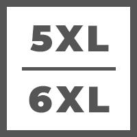 5 Extra Large (5XL) / 6 Extra Large (6XL)